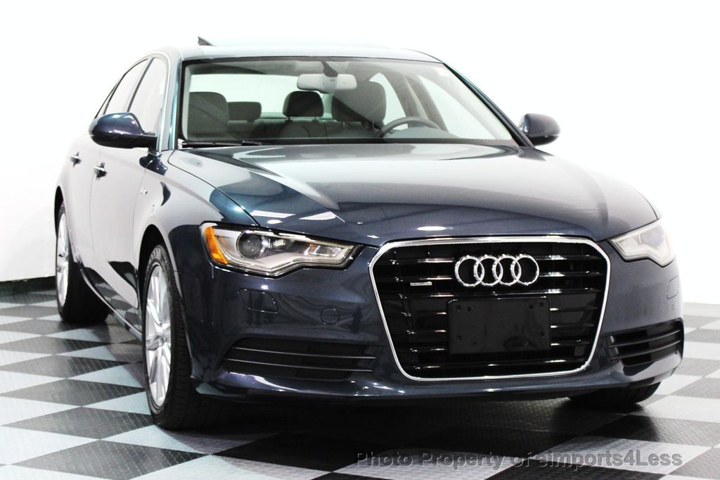 2014 Audi A6 CERTIFIED A6 3.0t Quattro Premium Plus AWD Sedan  - 16043985 - 27