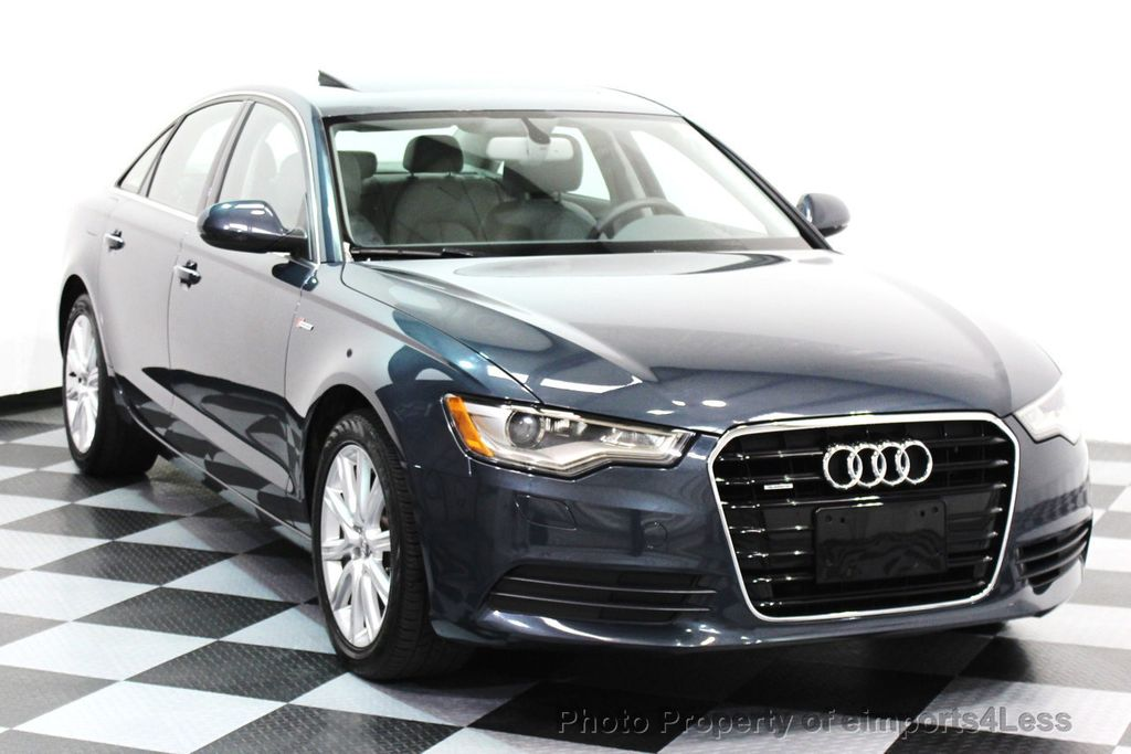 2014 Audi A6 CERTIFIED A6 3.0t Quattro Premium Plus AWD Sedan  - 16043985 - 28