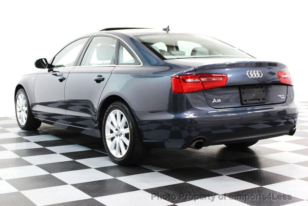 2014 Audi A6 CERTIFIED A6 3.0t Quattro Premium Plus AWD Sedan  - 16043985 - 29