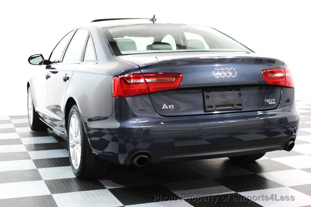 2014 Audi A6 CERTIFIED A6 3.0t Quattro Premium Plus AWD Sedan  - 16043985 - 30