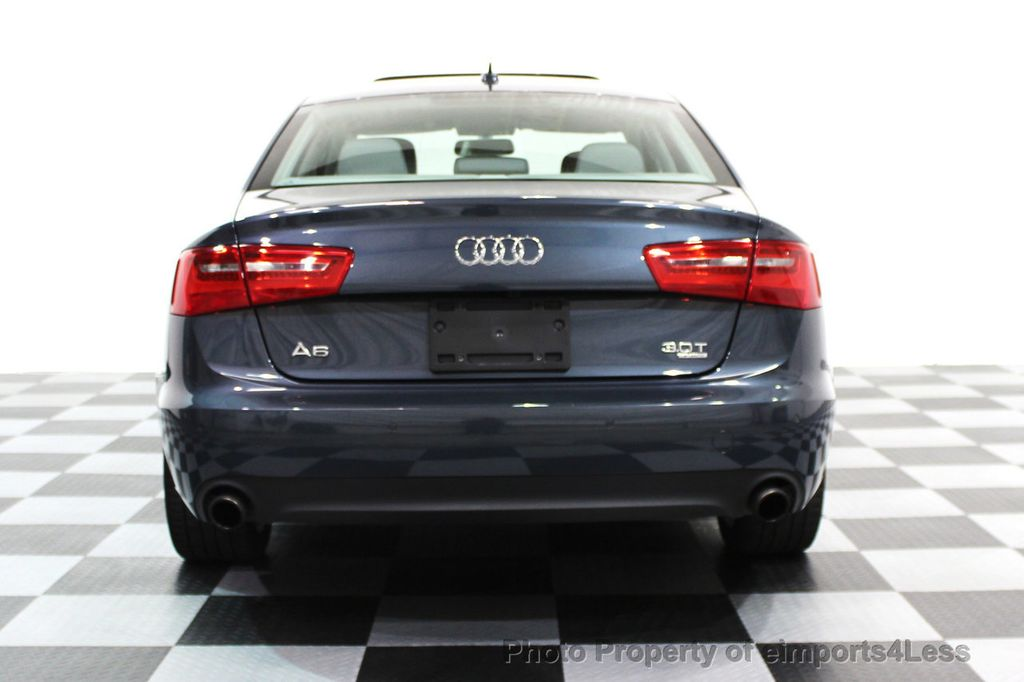2014 Audi A6 CERTIFIED A6 3.0t Quattro Premium Plus AWD Sedan  - 16043985 - 31