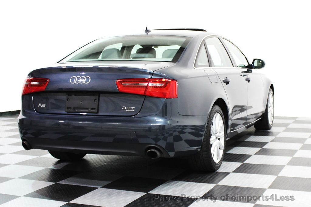 2014 Audi A6 CERTIFIED A6 3.0t Quattro Premium Plus AWD Sedan  - 16043985 - 32