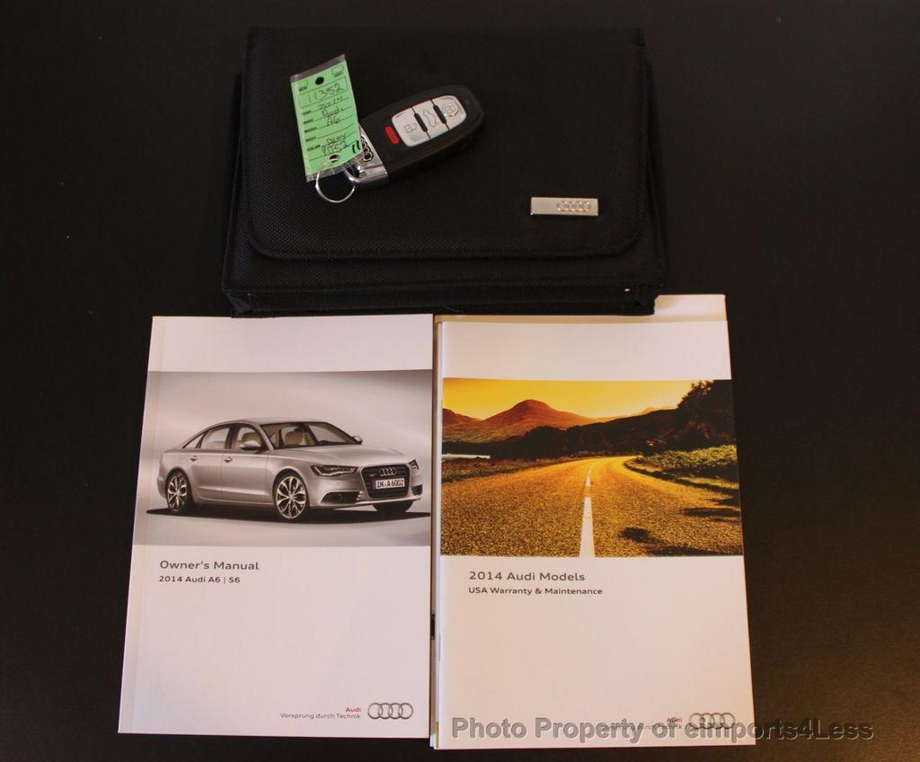 2014 Audi A6 CERTIFIED A6 3.0t Quattro Premium Plus AWD Sedan - 16043985 -  49