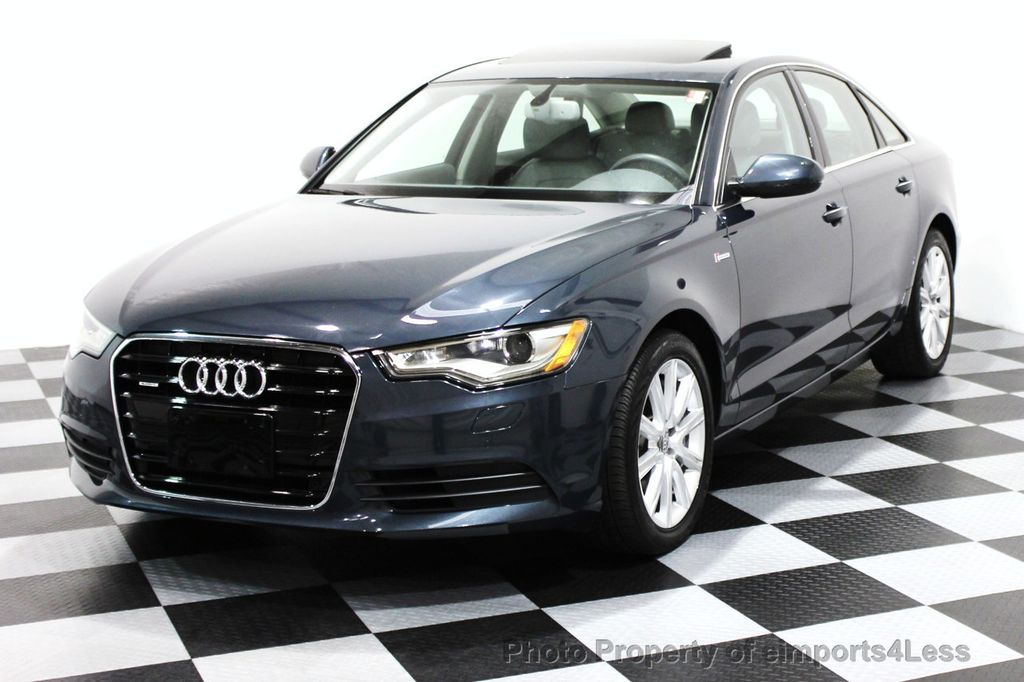 2014 Audi A6 CERTIFIED A6 3.0t Quattro Premium Plus AWD Sedan  - 16043985 - 50