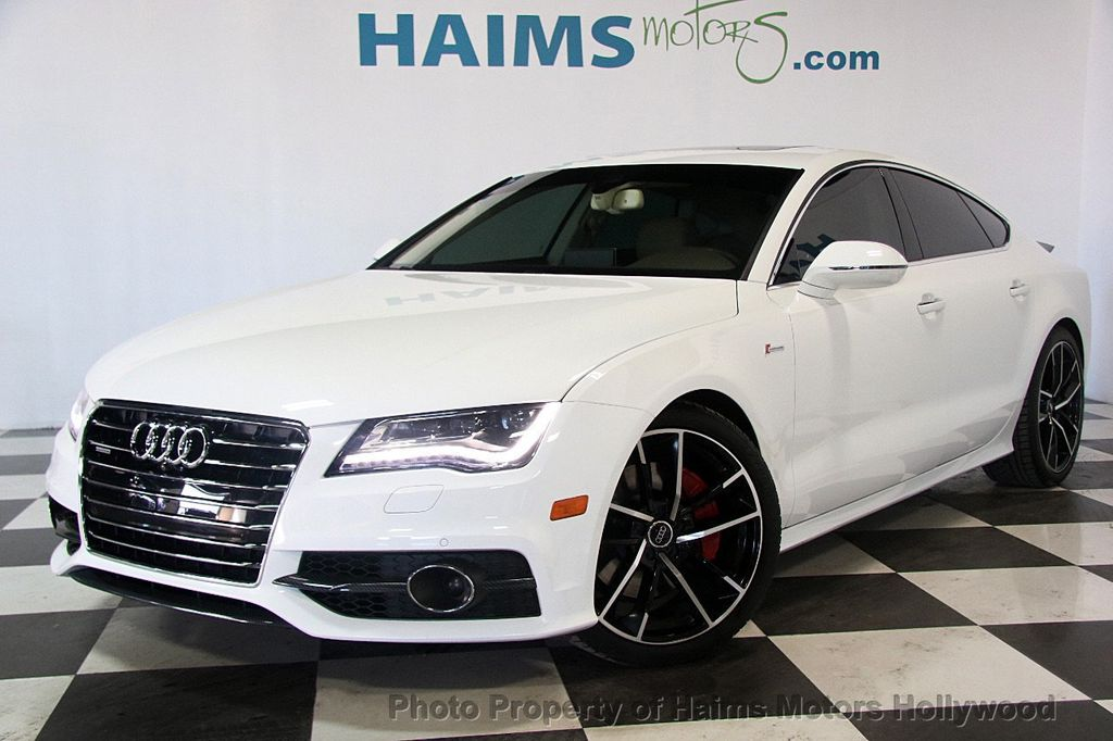2014 used audi a7 4dr hatchback quattro 3 0 prestige at haims motors hollywood serving fort. Black Bedroom Furniture Sets. Home Design Ideas