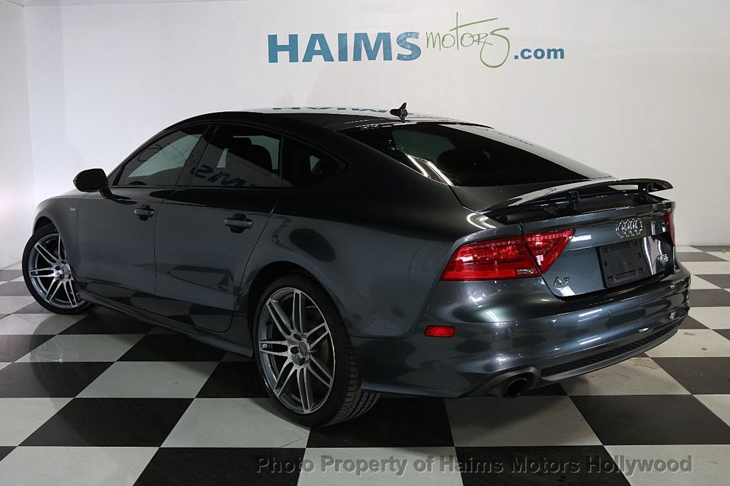 2014 used audi a7 4dr hatchback quattro 3 0 prestige at haims motors ft lauderdale serving. Black Bedroom Furniture Sets. Home Design Ideas