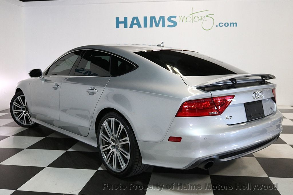 2014 used audi a7 4dr hatchback quattro 3 0 prestige at haims motors serving fort lauderdale. Black Bedroom Furniture Sets. Home Design Ideas