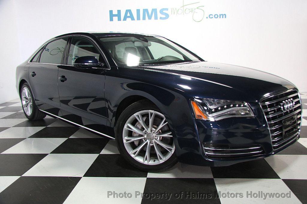 2014 Used Audi A8 L 4dr Sedan 3 0t At Haims Motors Serving