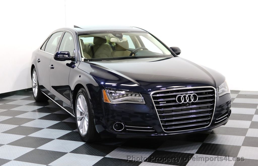 2014 used audi a8 l certified a8l quattro premium pano driver assist at eimports4less. Black Bedroom Furniture Sets. Home Design Ideas