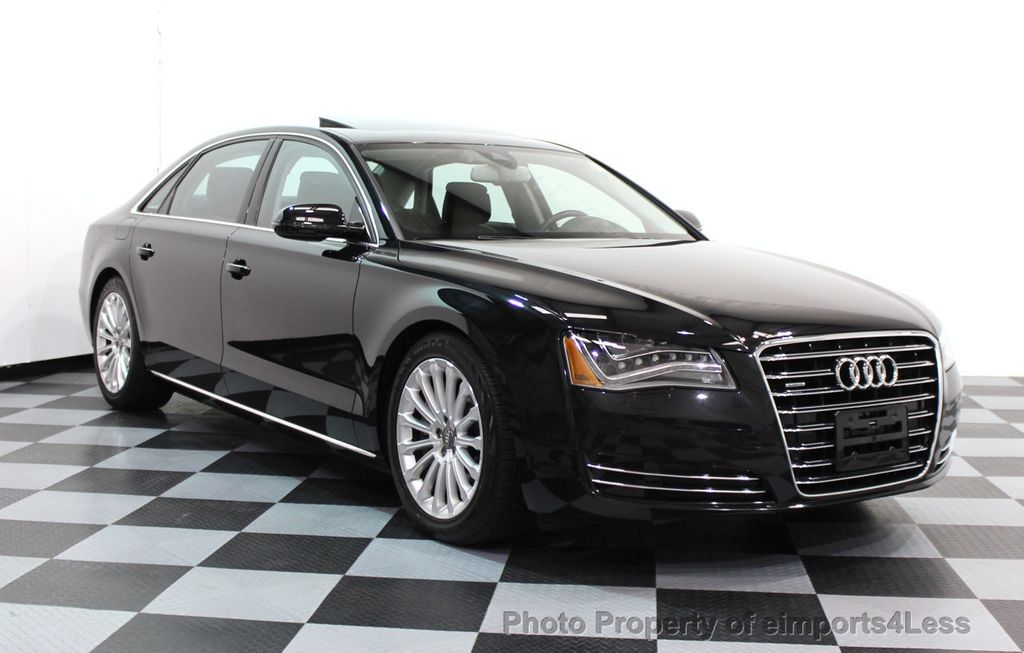 2014 used audi a8 l certified a8l quattro v8 awd premium navi at eimports4less serving. Black Bedroom Furniture Sets. Home Design Ideas