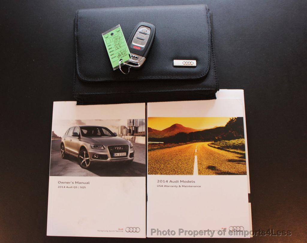 2014 Audi Q5 CERTIFIED Q5 3.0t S-LINE PRESTIGE Quattro AWD BLIS / NAVI