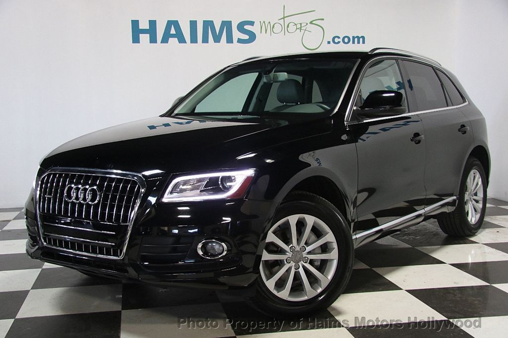 Used Audi Q Quattro Dr T Premium At Haims Motors Serving - Audi q5 family car