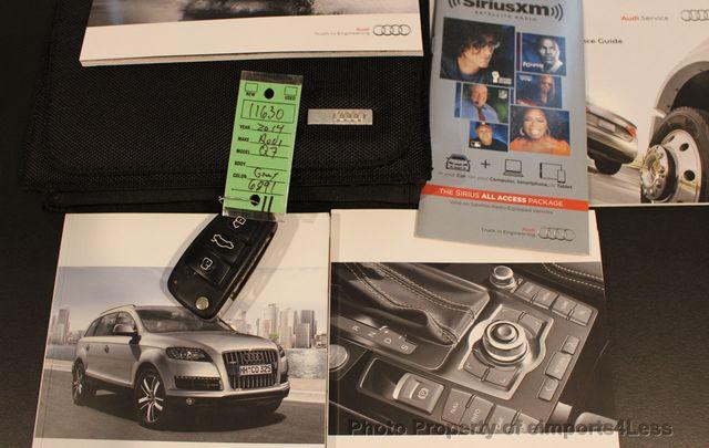 2014 Audi Q7 CERTIFIED Q7 3.0t Quattro PREMIUM PLUS AWD CAMERA NAV - 16676623 - 26