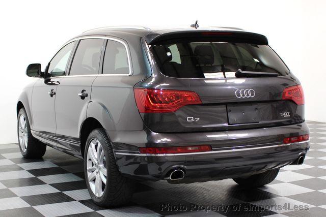 2014 Audi Q7 CERTIFIED Q7 3.0t Quattro PREMIUM PLUS AWD CAMERA NAV - 16676623 - 2