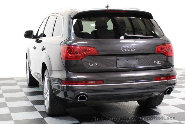 2014 Audi Q7 CERTIFIED Q7 3.0t Quattro PREMIUM PLUS AWD CAMERA NAV - 16676623 - 31