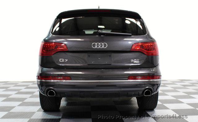 2014 Audi Q7 CERTIFIED Q7 3.0t Quattro PREMIUM PLUS AWD CAMERA NAV - 16676623 - 32
