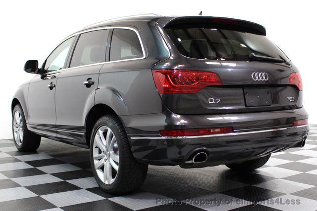 2014 Audi Q7 CERTIFIED Q7 3.0t Quattro PREMIUM PLUS AWD CAMERA NAV - 16676623 - 49