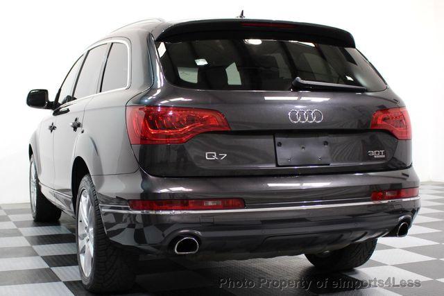 2014 Audi Q7 CERTIFIED Q7 3.0t Quattro PREMIUM PLUS AWD CAMERA NAV - 16676623 - 51