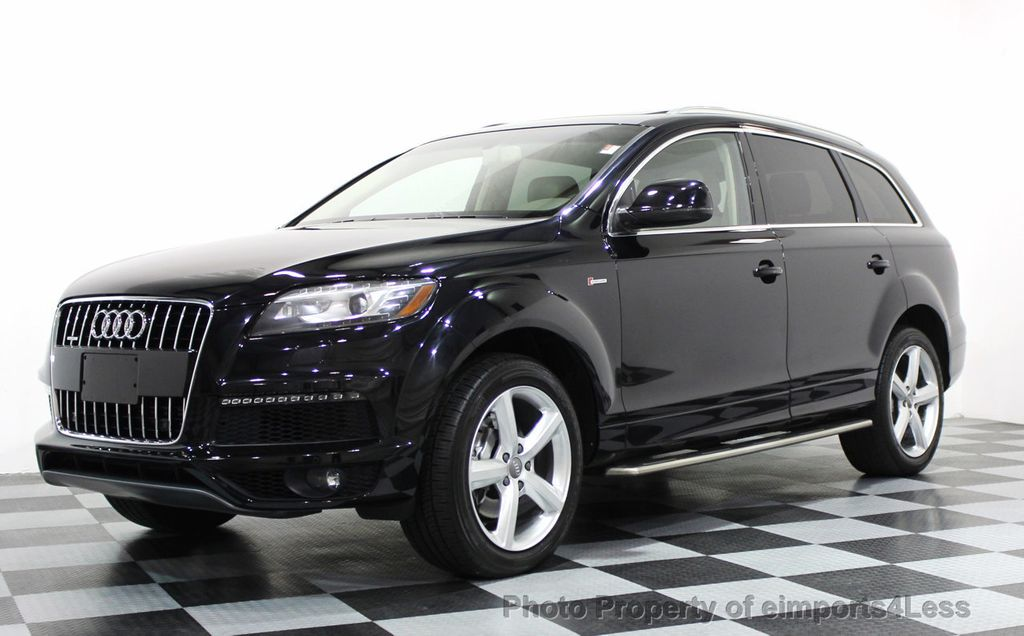 2014 used audi q7 certified q7 3 0t s line prestige quattro awd cam nav at eimports4less. Black Bedroom Furniture Sets. Home Design Ideas