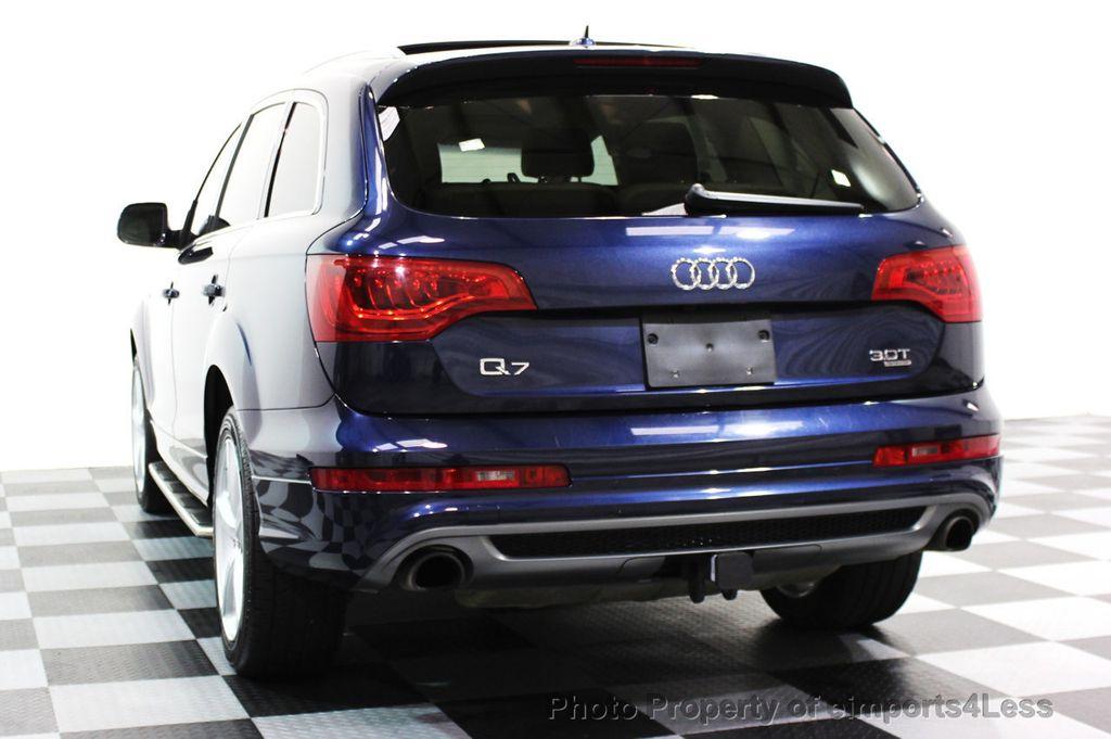 q7 audi line awd 0t prestige nav quattro suv certified cars