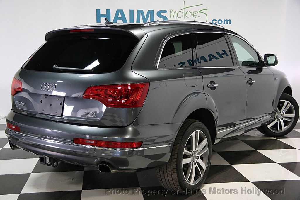Audi Q7 >> 2014 Used Audi Q7 Quattro 4dr 3 0t Premium Plus At Haims Motors