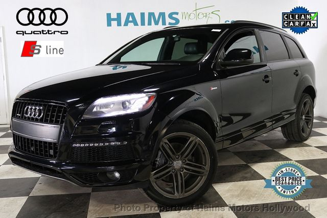 2014 Audi Q7 3.0 Ts Line Prestige >> 2014 Used Audi Q7 Quattro 4dr 3 0t S Line Prestige At Haims Motors Hollywood Serving Fort Lauderdale Hollywood Pompano Beach Fl Iid 18574860