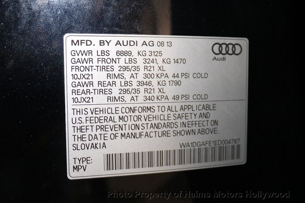 2014 Audi Q7 quattro 4dr 3.0T S line Prestige - 18574860 - 42