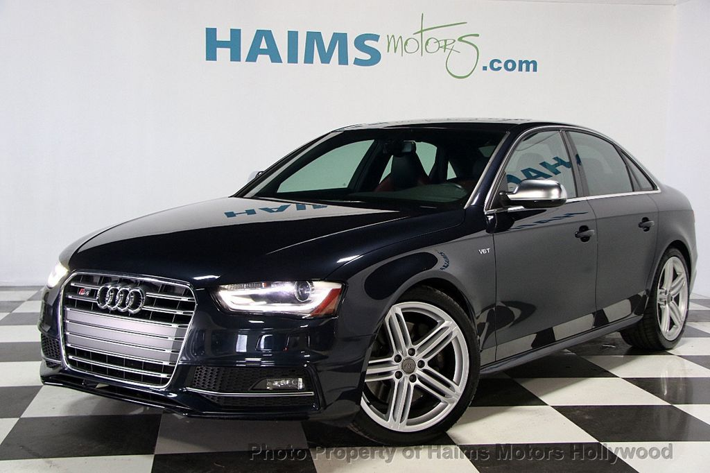Used Audi S Dr Sedan S Tronic Premium Plus At Haims Motors Ft - Used audi s4