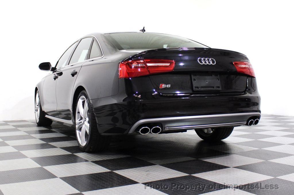 2014 Audi S6 CERTIFIED S6 4.0T Quattro AWD 20s LED CAMERA NAV - 18204342 - 16