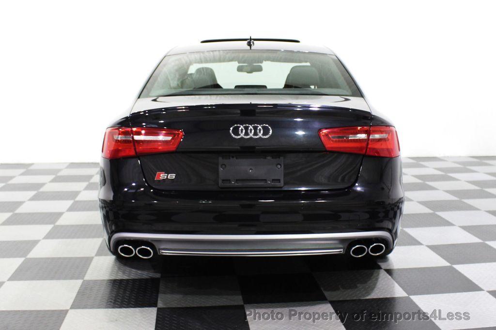 2014 Audi S6 CERTIFIED S6 4.0T Quattro AWD 20s LED CAMERA NAV - 18204342 - 17