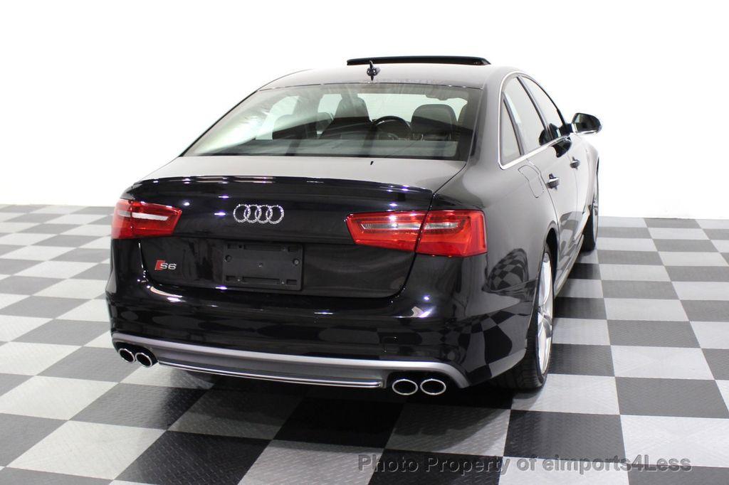 2014 Audi S6 CERTIFIED S6 4.0T Quattro AWD 20s LED CAMERA NAV - 18204342 - 32