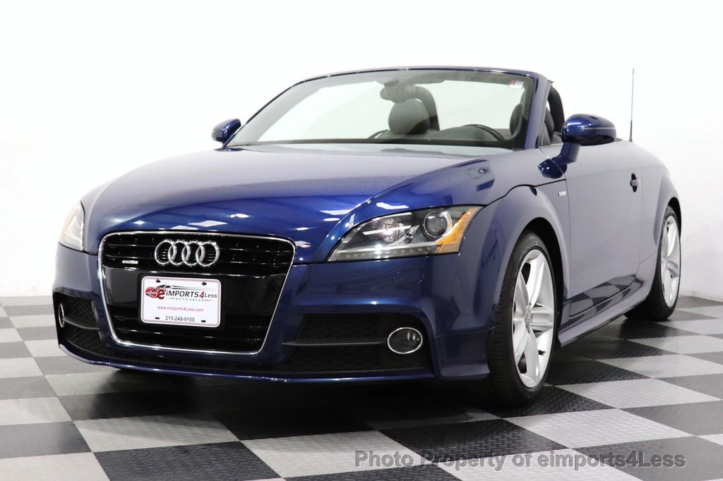 2014 Audi TT Roadster CERTIFIED TT 2.0T Quattro AWD S-LINE BOSE HEATED SEATS - 18616874 - 10