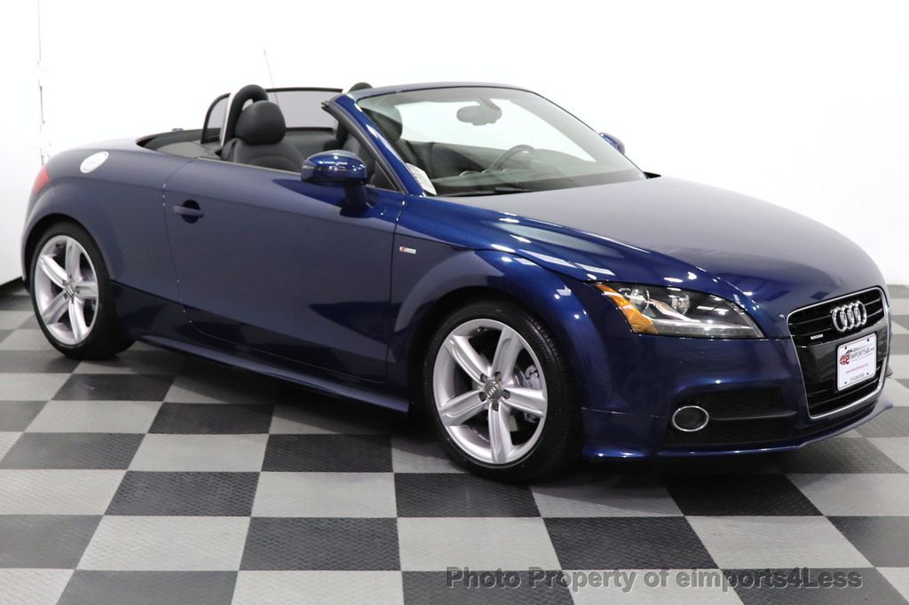 2014 Audi TT Roadster CERTIFIED TT 2.0T Quattro AWD S-LINE BOSE HEATED SEATS - 18616874 - 11