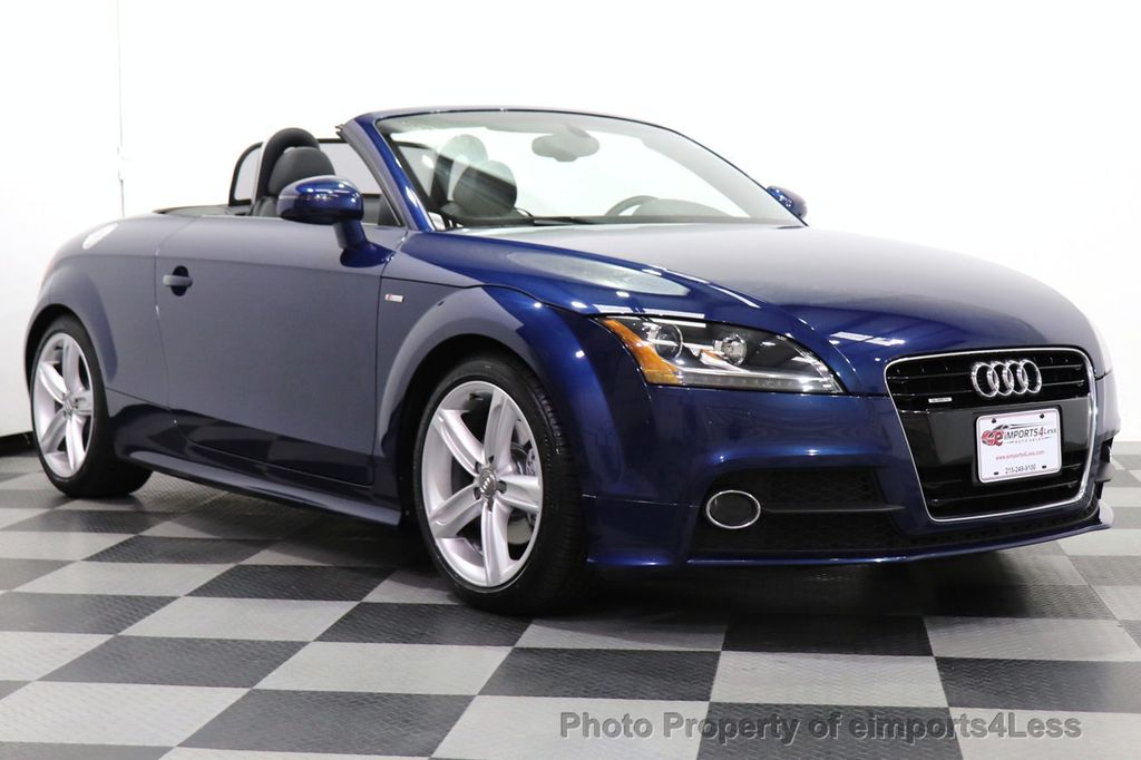 2014 Audi TT Roadster CERTIFIED TT 2.0T Quattro AWD S-LINE BOSE HEATED SEATS - 18616874 - 1