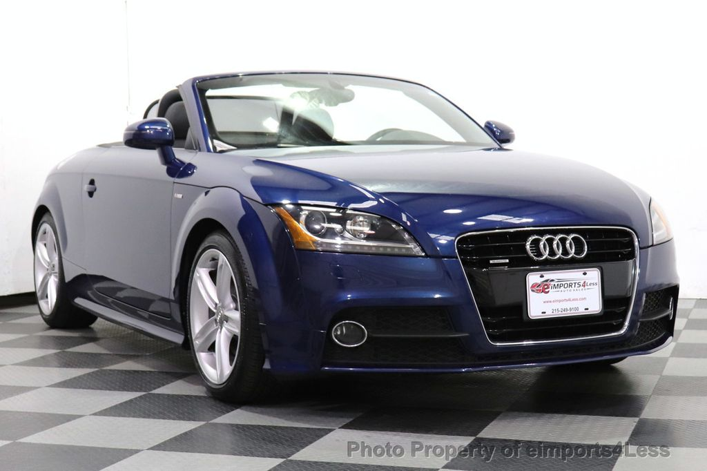 2014 Audi TT Roadster CERTIFIED TT 2.0T Quattro AWD S-LINE BOSE HEATED SEATS - 18616874 - 24
