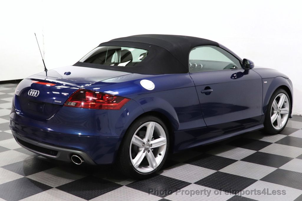 2014 Audi TT Roadster CERTIFIED TT 2.0T Quattro AWD S-LINE BOSE HEATED SEATS - 18616874 - 27