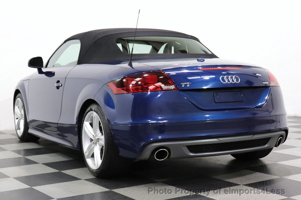 2014 Audi TT Roadster CERTIFIED TT 2.0T Quattro AWD S-LINE BOSE HEATED SEATS - 18616874 - 2