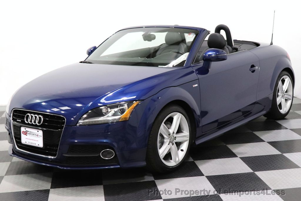 2014 Audi TT Roadster CERTIFIED TT 2.0T Quattro AWD S-LINE BOSE HEATED SEATS - 18616874 - 37