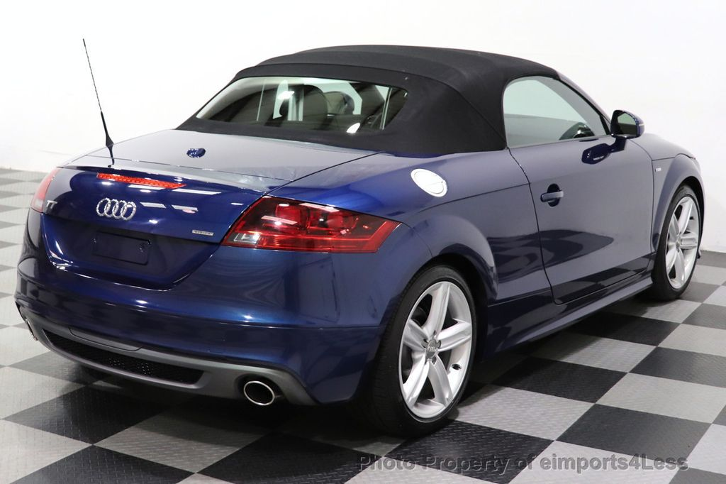 2014 Audi TT Roadster CERTIFIED TT 2.0T Quattro AWD S-LINE BOSE HEATED SEATS - 18616874 - 3