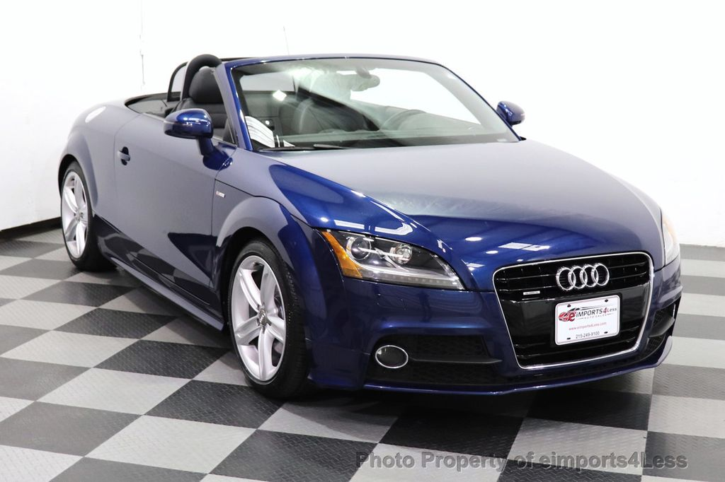 2014 Audi TT Roadster CERTIFIED TT 2.0T Quattro AWD S-LINE BOSE HEATED SEATS - 18616874 - 39