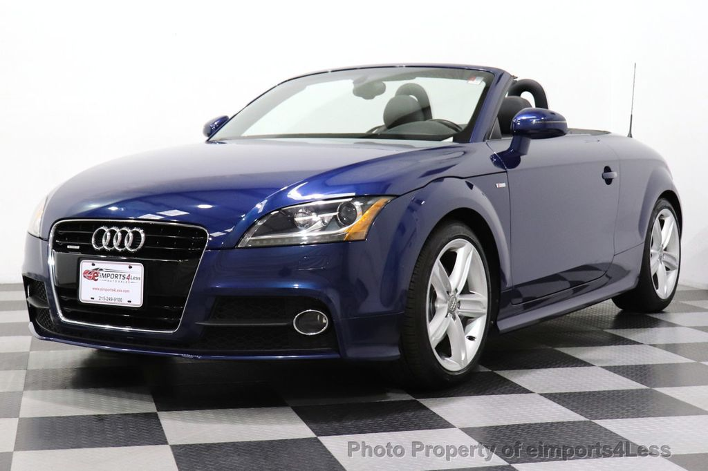 2014 Audi TT Roadster CERTIFIED TT 2.0T Quattro AWD S-LINE BOSE HEATED SEATS - 18616874 - 44