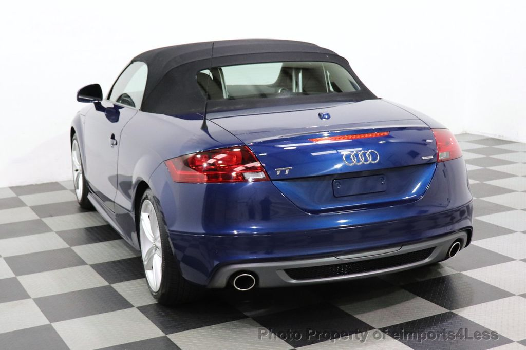 2014 Audi TT Roadster CERTIFIED TT 2.0T Quattro AWD S-LINE BOSE HEATED SEATS - 18616874 - 45