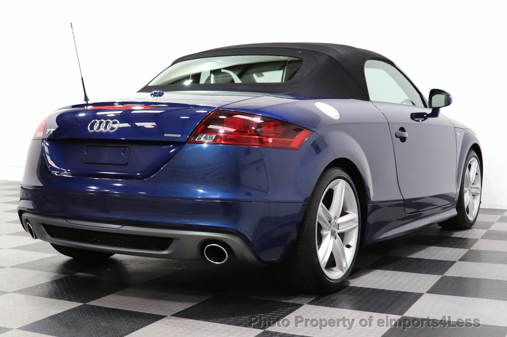 2014 Audi TT Roadster CERTIFIED TT 2.0T Quattro AWD S-LINE BOSE HEATED SEATS - 18616874 - 46