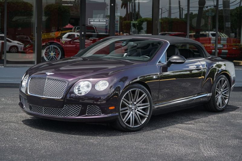 2014 Bentley Continental GT Speed 2dr Convertible - Click to see full-size photo viewer