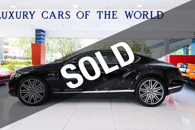 2014 Bentley Continental GT Speed 2dr Coupe