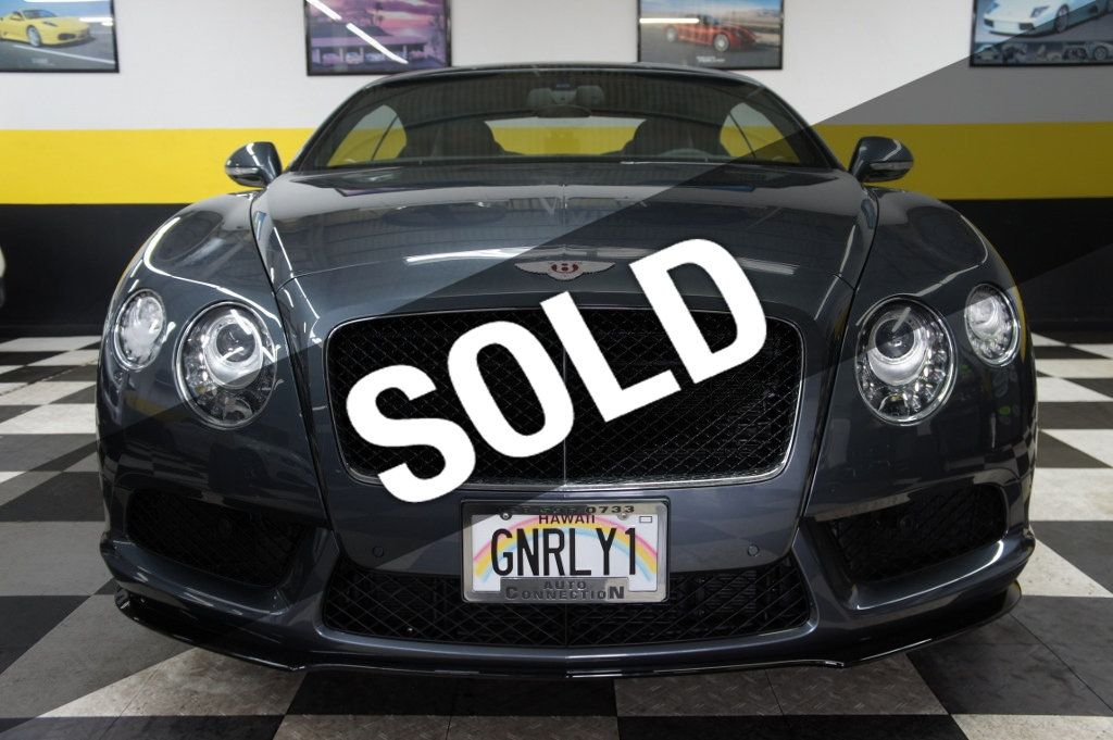 2014 Bentley Continental GT V8 S 2dr Coupe - 18689573 - 0