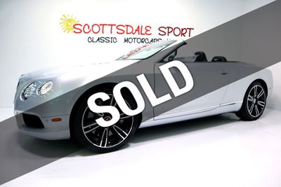 2014 Bentley Continental GTC V8 * ONLY 17K Miles...Exceptional