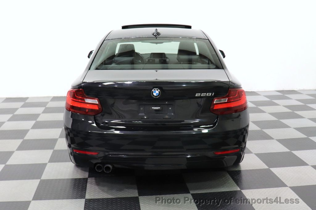 2014 Used BMW 2 Series CERTIFIED 228i SPORT PACKAGE COUPE at