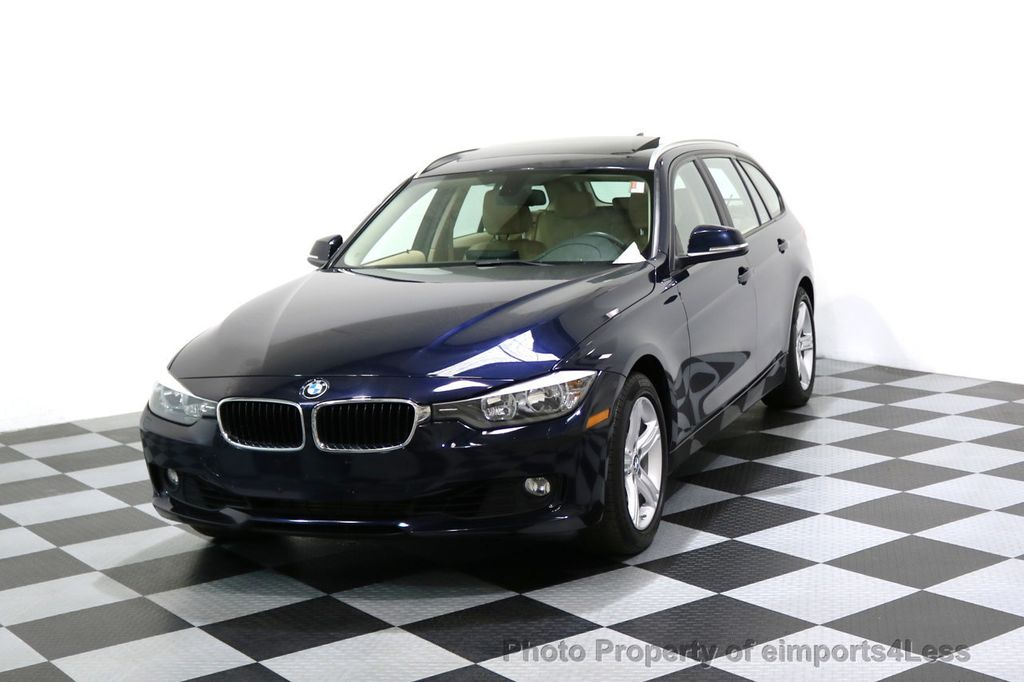 2014 BMW 3 Series CERTIFIED 328i xDRIVE AWD WAGON CAMERA NAVI - 17425263 - 0