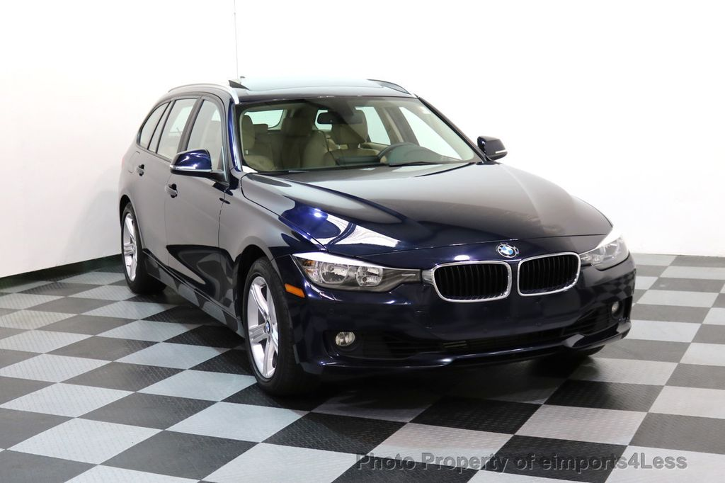 2014 BMW 3 Series CERTIFIED 328i xDRIVE AWD WAGON CAMERA NAVI - 17425263 - 1